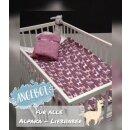 Babydecke Alpaka